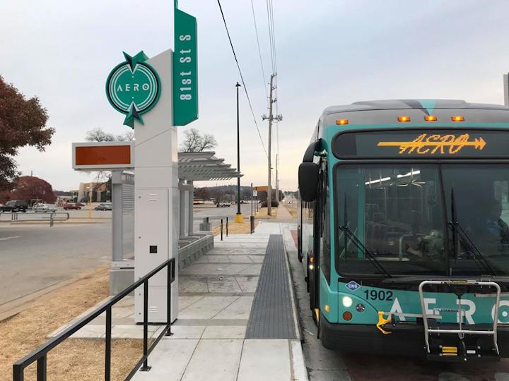 Tulsa Transit Begins Beta Testing Aero Brt Mass Transit