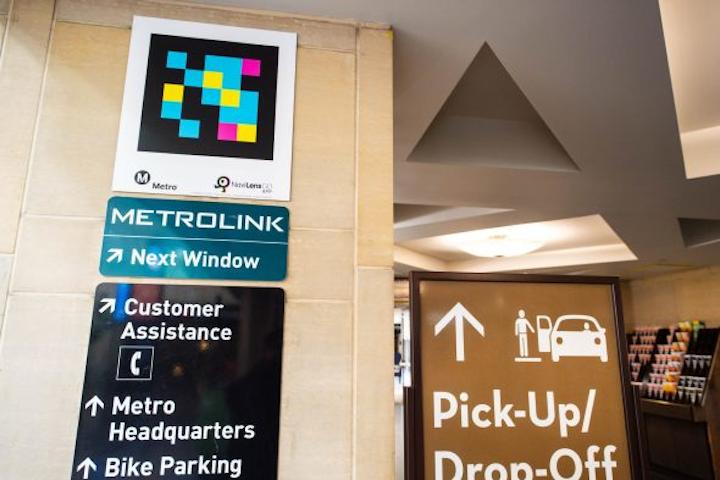 L A Metro Testing Wayfinding Technology At Union Station Mass Transit