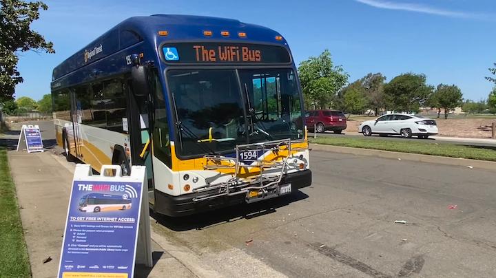California Transportation Agency City Of Sacramento Sacrt Launch Wi Fi Bus Mass Transit