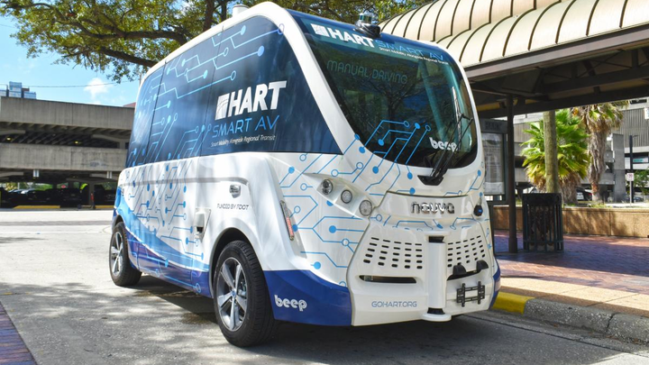 HART - Projektshuttle in Florida