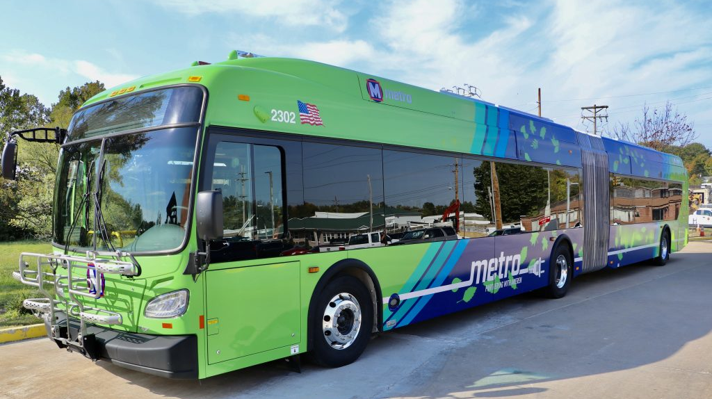 New Electric Buses Will Support Sustainable Mobility Options For St Louis Region Mass Transit