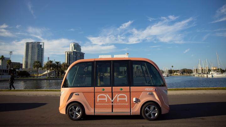 AVA Shuttle in der Tampa Bay