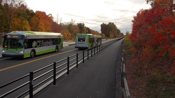 In June 2020, the Connecticut Department of Transportation announced plans to test North America's first full size automated transit bus project.